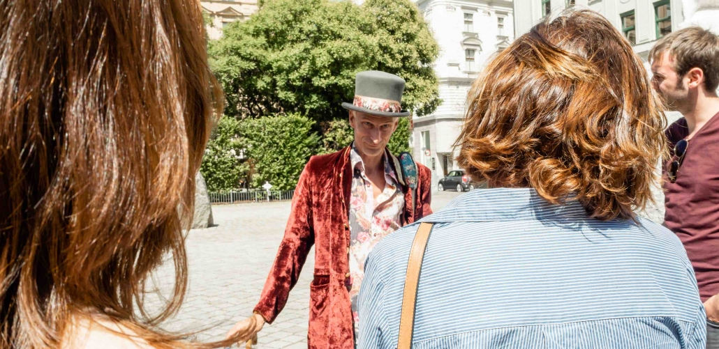 grosser kleiner Stadtrundgang film vienna cult tour Florian